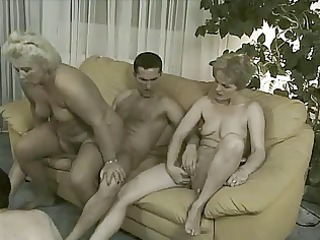 grannies in fuckfest - 6 old doxies &; 11