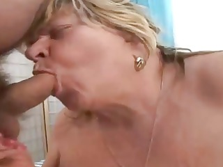 bbw granny engulfing old dong