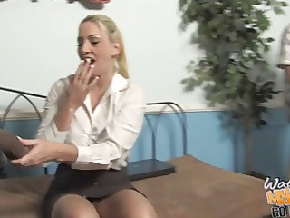 sugar mom cayla on big dark cock