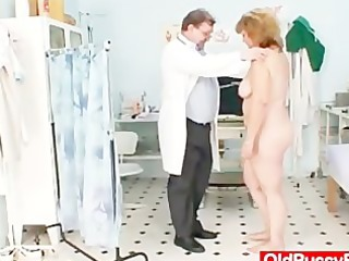 curly bulky mamma gets harrassed by gynecologist