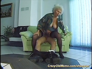 excited old mama