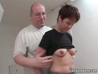 older pair have a fun in oral pleasure playing