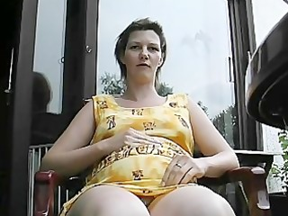 preggo aged honey gets group-fucked