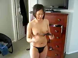 horny chinese mother i shows titght body