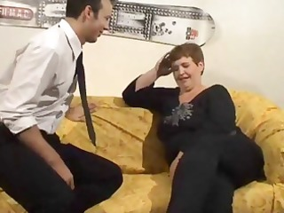 older large dutch slut acquires fingered and