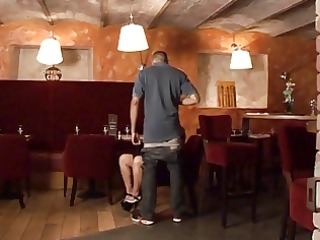 sex au resto, team fuck of a french older in a