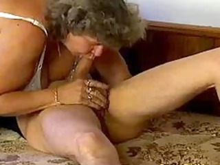 insane old mamma receives large penis oral sex