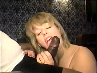 swinger wife eating the large darksome pounder