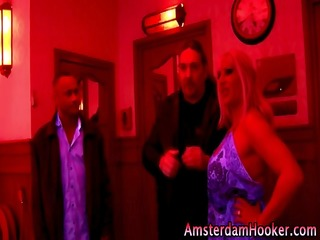 mature lewd dutch blond whore
