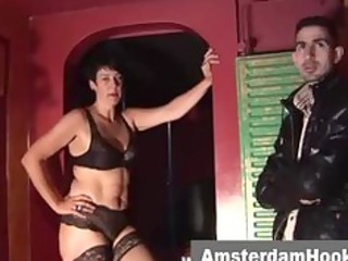 aged dutch prostitute gives bj