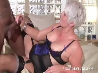 hawt cougar blowing biggest darksome shaft