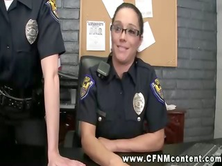 slutty mmf cops abuse their force over arrested